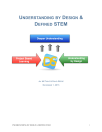 Understanding By Design & Defined STEM